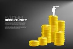 Concetto dell'opportunità di investimento aziendale illustrazione vettoriale
