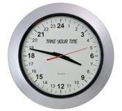 concetto dell'orologio Fotografie Stock Libere da Diritti