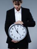 Concetto dell'orologio biologico Fotografia Stock Libera da Diritti