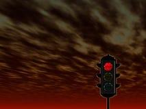 concetto dell'Traffico-indicatore luminoso illustrazione vettoriale