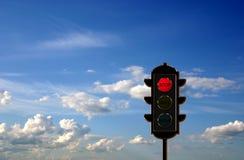 concetto dell'Traffico-indicatore luminoso illustrazione di stock