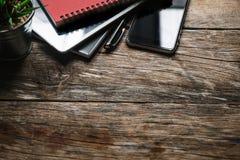 Concetto dell'ufficio del lavoro di scrittorio fotografie stock libere da diritti