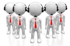 concetto della call center 3D Immagine Stock Libera da Diritti
