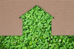 Concetto della casa di Eco Fotografia Stock Libera da Diritti