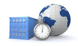 Concetto della consegna veloce illustrazione vettoriale