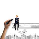 Concetto della costruzione Immagine Stock