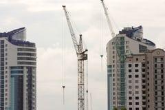Concetto della costruzione Costruzioni e costruzione di appartamento Immagine Stock Libera da Diritti
