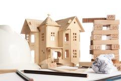 Concetto della costruzione e di affari Immagine Stock