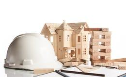 Concetto della costruzione e di affari Immagine Stock Libera da Diritti