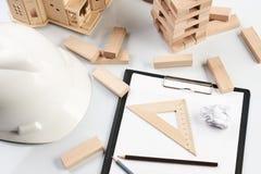 Concetto della costruzione e di affari Immagini Stock