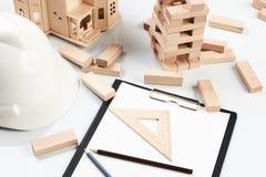 Concetto della costruzione e di affari Fotografie Stock