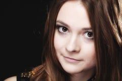 Concetto della gente - ritratto dell'adolescente Fotografia Stock
