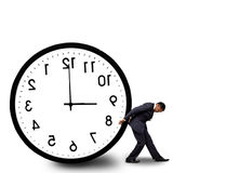 Concetto della gestione di tempo Fotografie Stock Libere da Diritti
