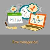 Concetto della gestione di tempo Immagini Stock