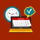 Concetto della gestione di tempo Fotografie Stock