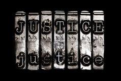 Concetto della giustizia Immagini Stock Libere da Diritti