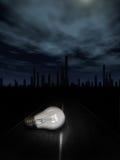Concetto della lampadina di Ligt Fotografie Stock