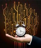 Concetto della macchina del tempo immagine stock libera da diritti