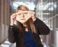 Concetto della maschera di protezione Immagine Stock