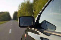 Concetto della natura e dell'automobile Fotografia Stock Libera da Diritti