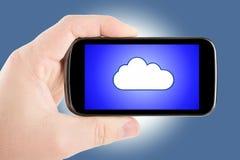 Concetto della nuvola Fotografia Stock