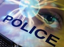 Concetto della polizia Immagini Stock