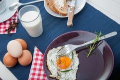 Concetto della prima colazione della luce morbida Fotografia Stock