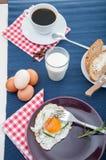 Concetto della prima colazione della luce morbida Immagine Stock