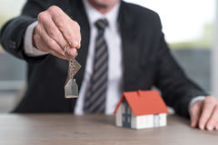 Concetto della proprietà domestica Immagini Stock Libere da Diritti