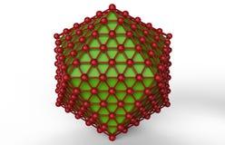Concetto della rete di Red Green Immagini Stock
