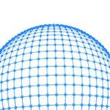 concetto della rete globale 3d Fotografia Stock Libera da Diritti