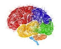 Concetto della rete neurale illustrazione vettoriale