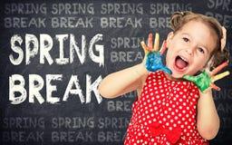 Concetto della rottura di primavera immagini stock libere da diritti