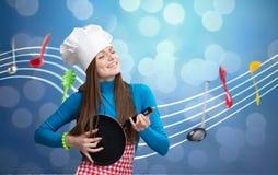 Concetto della sinfonia della cucina Fotografia Stock Libera da Diritti