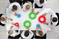 Concetto della soluzione di problema di business Immagini Stock