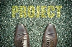 Concetto della strada - progetto Immagine Stock