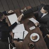 Concetto della stretta di mano del contratto di successo di accordo di affare Immagine Stock Libera da Diritti