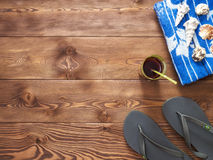 Concetto della vacanza estiva e della vacanza Fotografia Stock