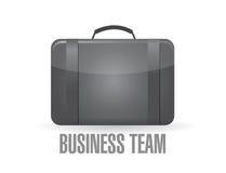concetto della valigia del gruppo di affari immagini stock libere da diritti