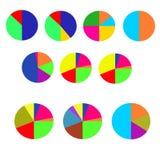 Concetto delle bandiere variopinte per il disegno differente di affari Illustrazione di vettore Immagine Stock