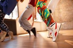 Concetto delle gambe del ` s della gente di sport Fotografia Stock Libera da Diritti