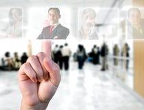 Concetto delle risorse umane Fotografie Stock