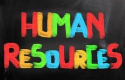 Concetto delle risorse umane immagini stock libere da diritti