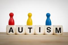 Concetto dello speciale di autismo Fotografia Stock