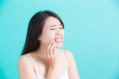 Concetto dentario sano Immagine Stock