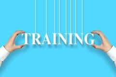 Concetto di addestramento Fotografia Stock