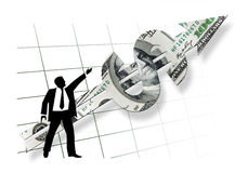 Concetto di affari Immagini Stock Libere da Diritti