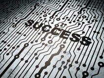 Concetto di affari: circuito con successo Immagini Stock Libere da Diritti