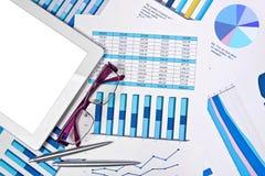 Concetto di affari di contabilità Fotografie Stock Libere da Diritti