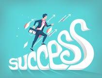Concetto di affari di successo Fotografia Stock